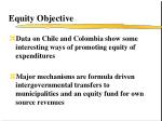 equity objective
