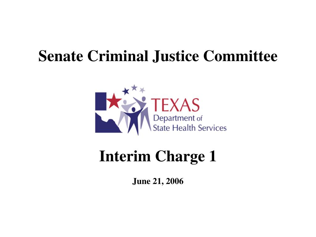 senate criminal justice committee l.