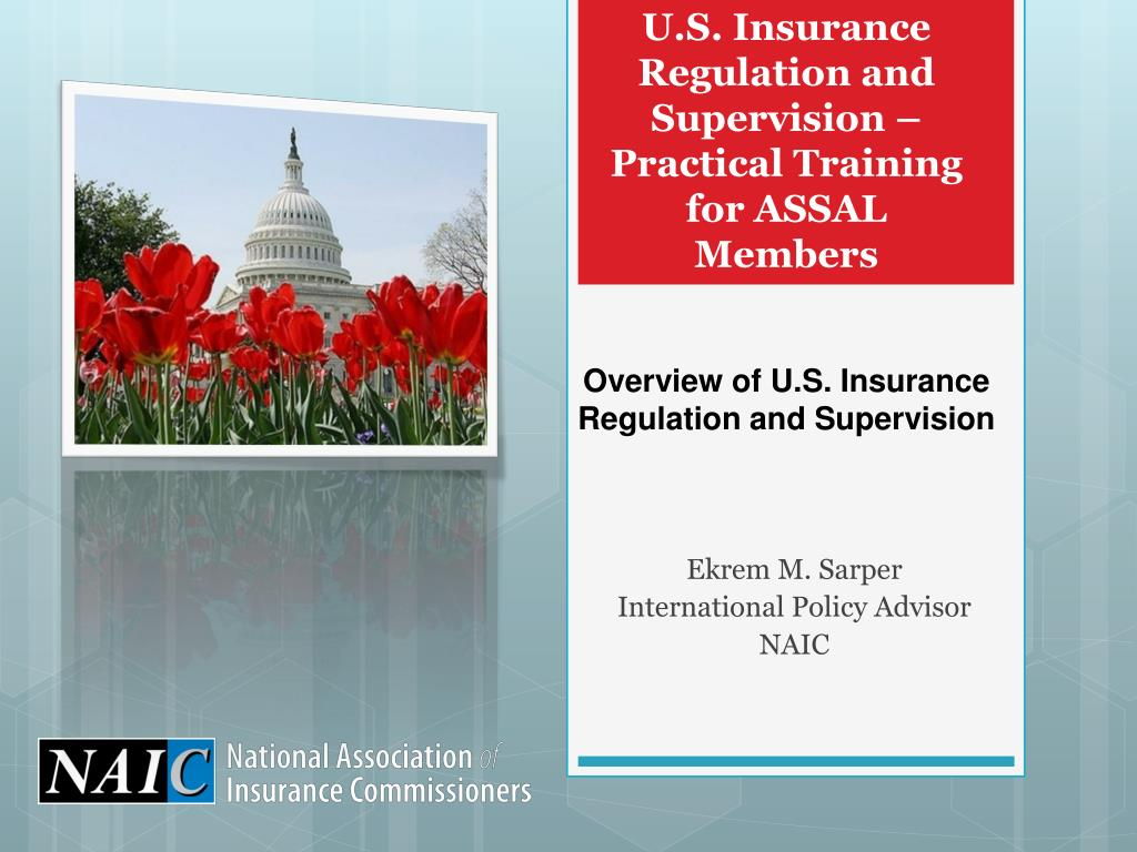 u s insurance regulation and supervision practical training for assal members l.