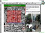 2 transition to security self reliance iraqi security forces13