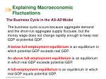 explaining macroeconomic fluctuations35