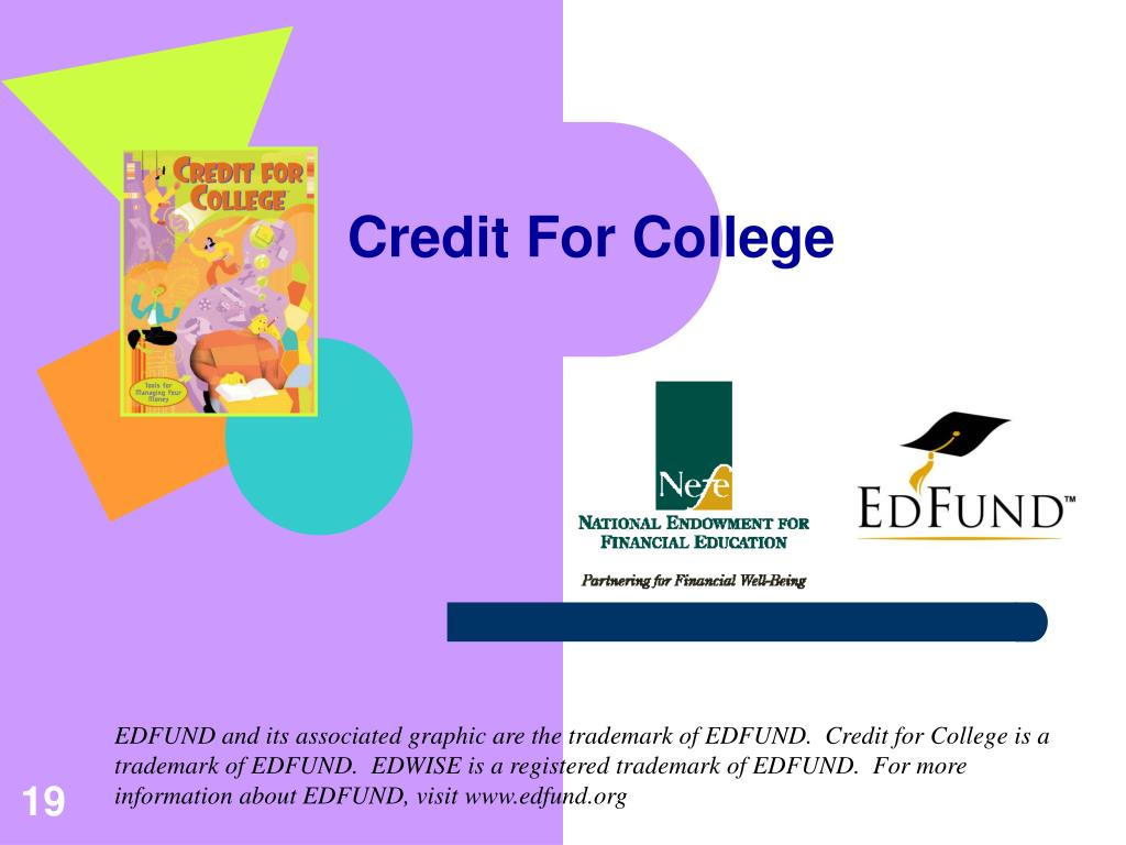 Credit For College