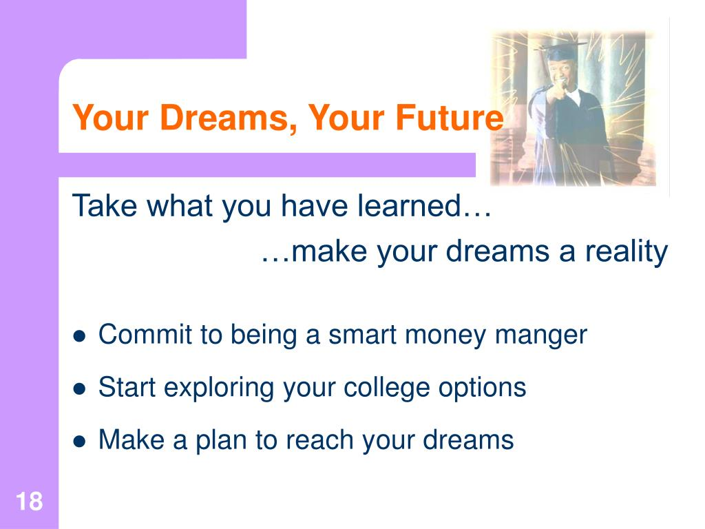 Your Dreams, Your Future
