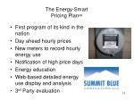 the energy smart pricing plan sm