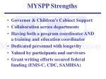 myspp strengths