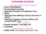 immediate contexts