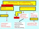 bezeichnung der ma geblichen teilrechtsordnung durch deutsches ipr