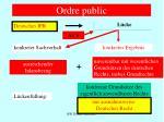 ordre public