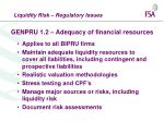 genpru 1 2 adequacy of financial resources