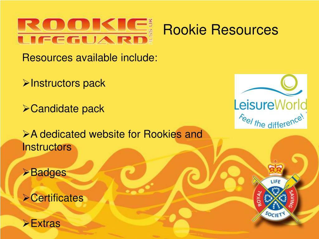 Rookie Resources