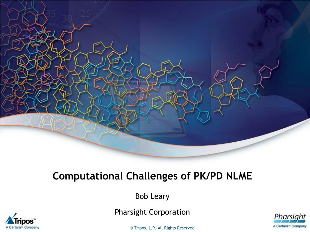 computational challenges of pk pd nlme l.