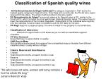 classification of spanish quality wines