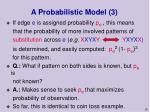 a probabilistic model 3