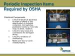 periodic inspection items required by osha35