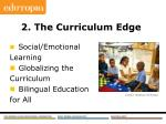 2 the curriculum edge