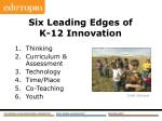 six leading edges of k 12 innovation