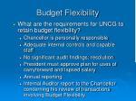 budget flexibility8
