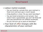 moral hazard21