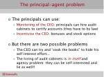 the principal agent problem29