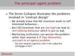the principal agent problem32