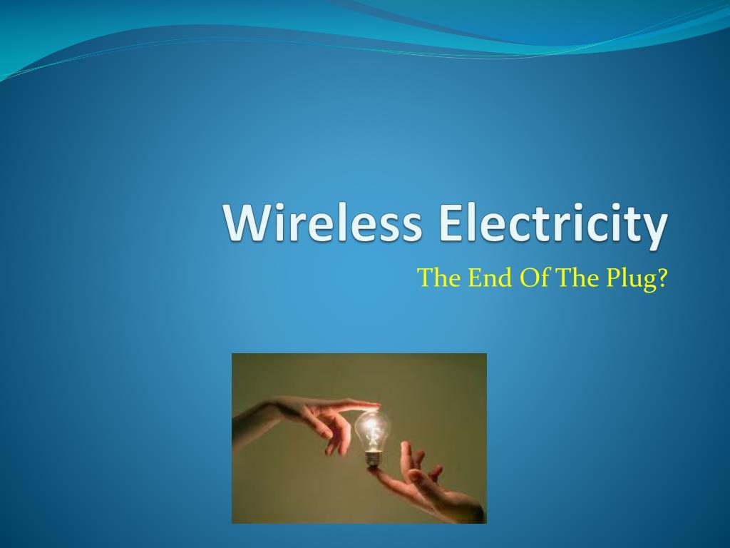 wireless electricity l.