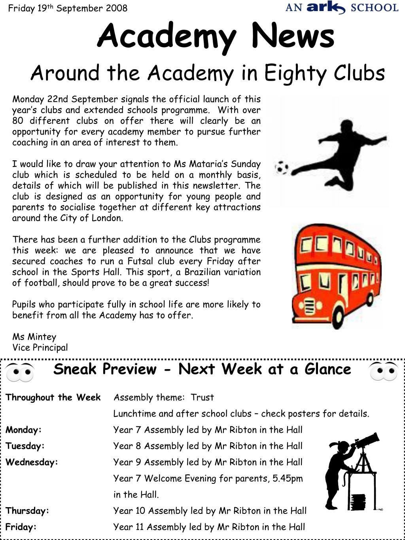 academy news l.