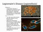 legionnaire s disease legionellosis38