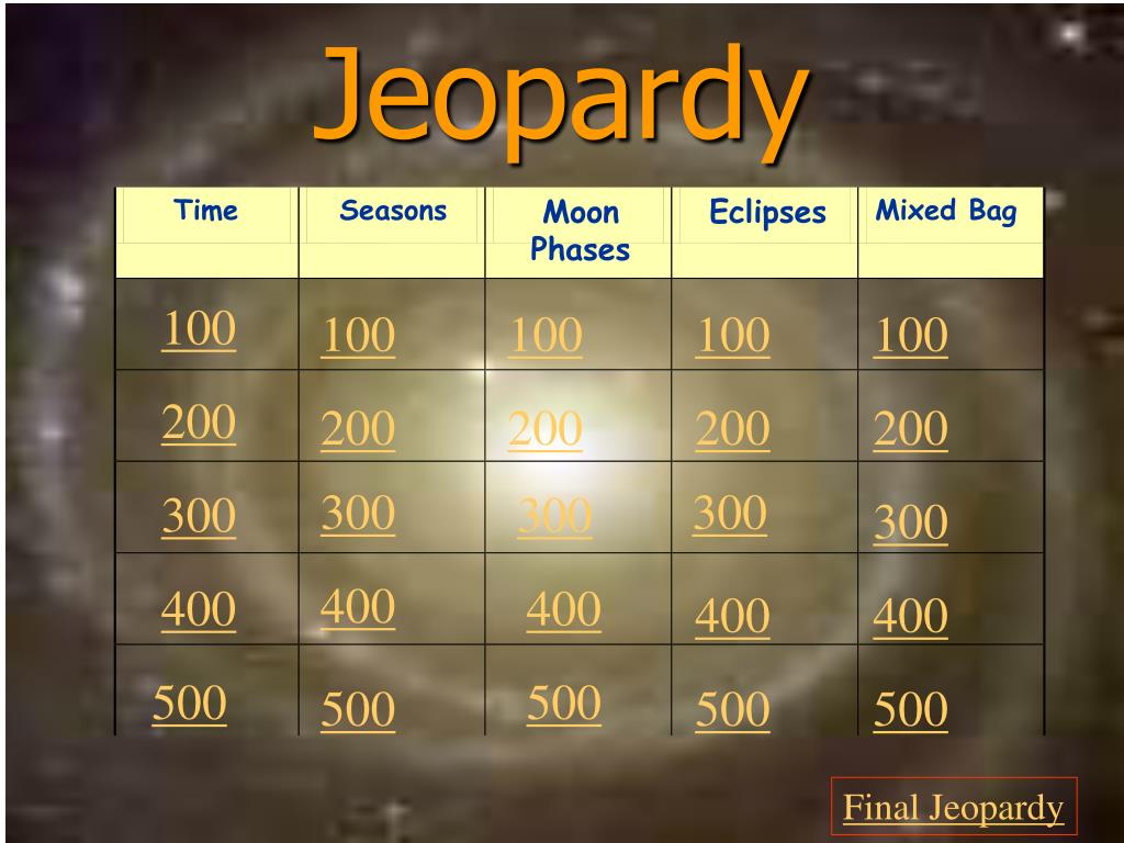 jeopardy l.
