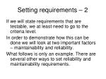 setting requirements 2