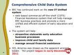 comprehensive child data system