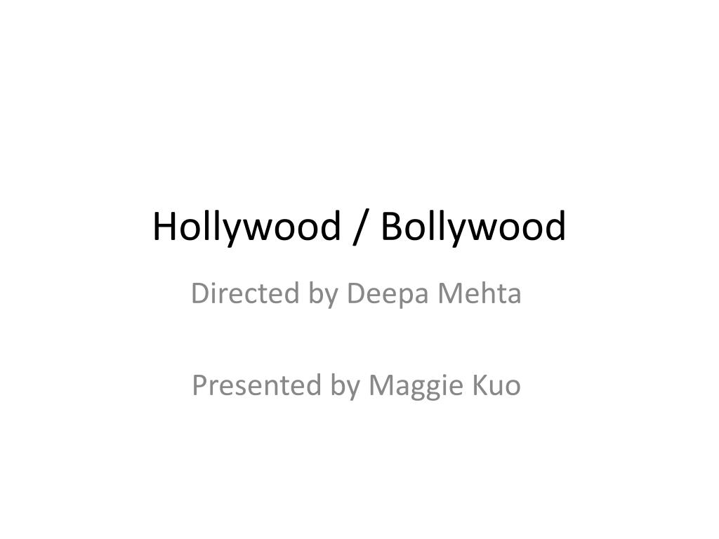 hollywood bollywood l.