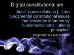 digital constitutionalism