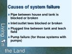 causes of system failure
