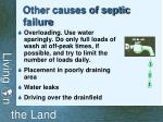 other causes of septic failure