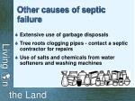other causes of septic failure29
