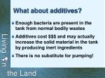 what about additives