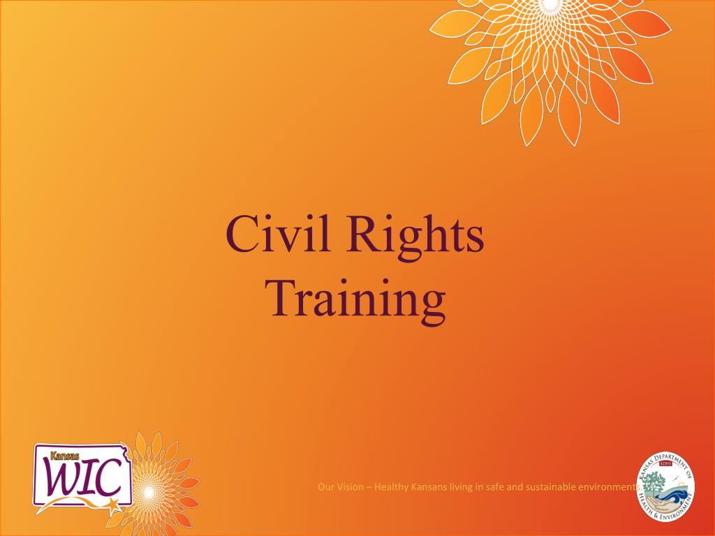civil rights training l.