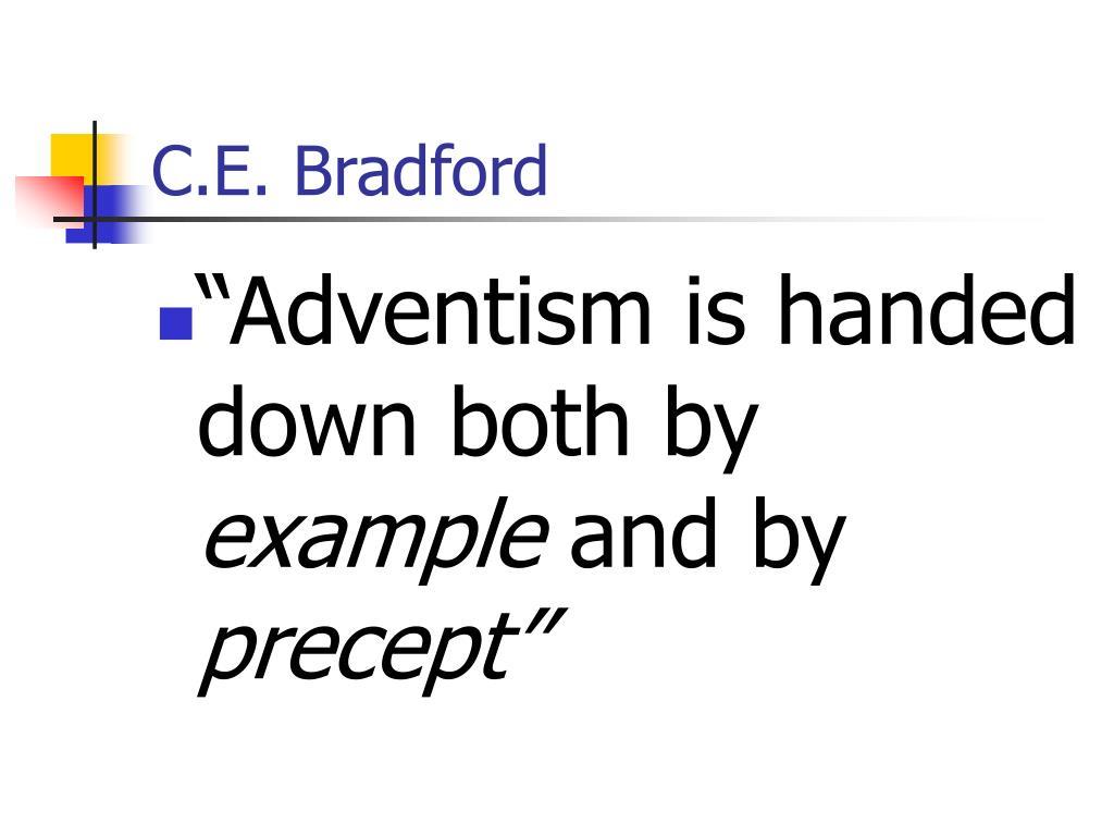 C.E. Bradford