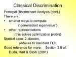classical discrimination12