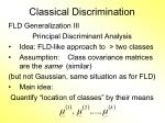 classical discrimination9