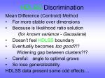 hdlss discrimination34