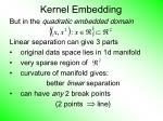 kernel embedding64