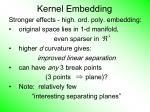 kernel embedding66