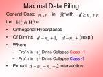 maximal data piling45