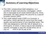 summary of learning objectives44
