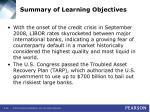 summary of learning objectives46