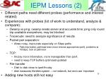 iepm lessons 2