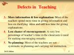 defects in teaching5