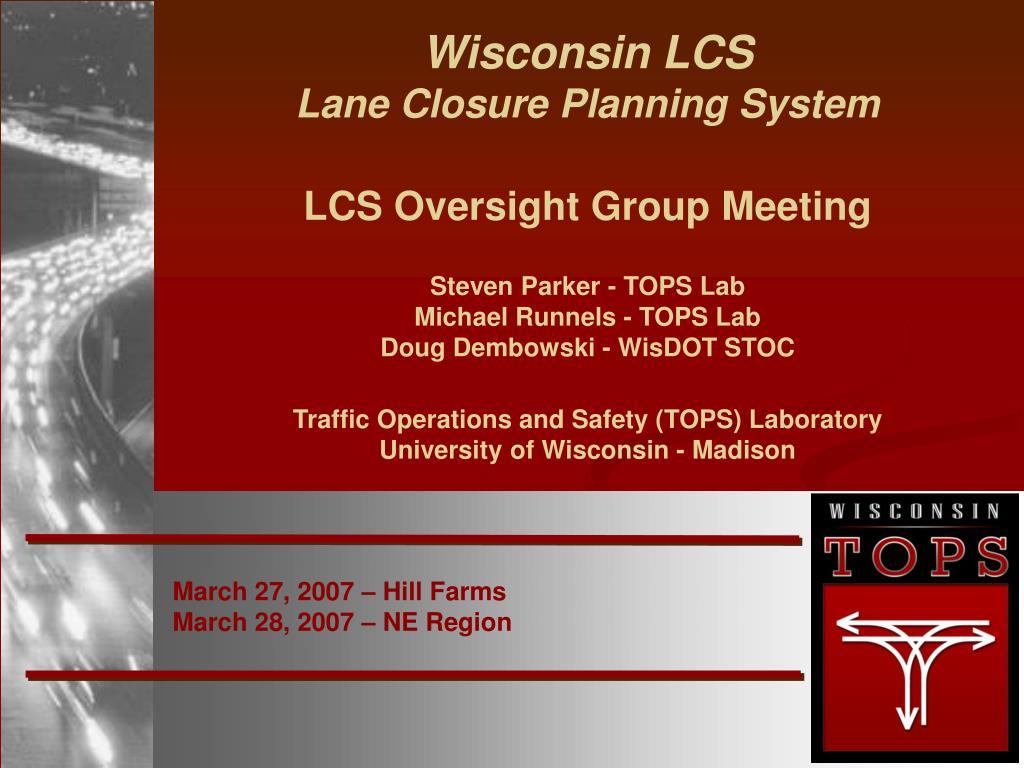 march 27 2007 hill farms march 28 2007 ne region l.