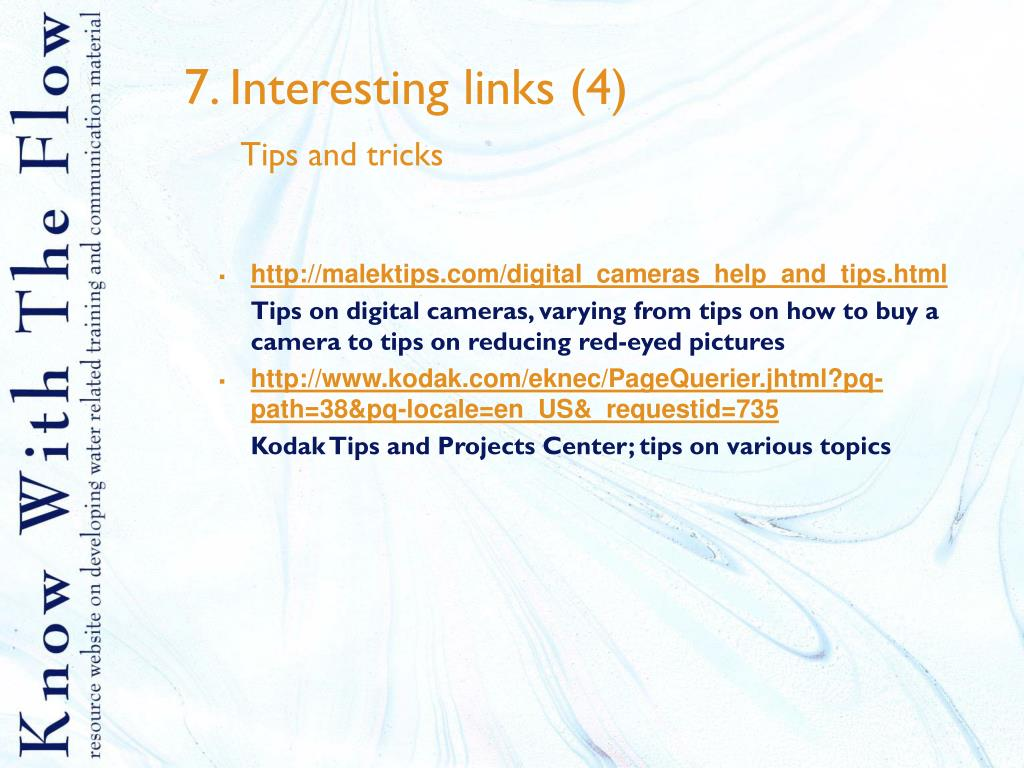 7. Interesting links (4)